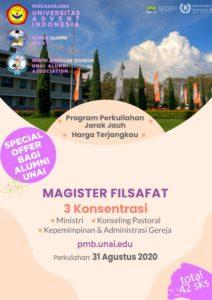 Poster Magister Filsafat